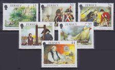 Jersey Mi Nr. 533 - 538 **, Geschichte History, postfrisch, MNH
