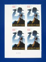 Sc # 4472 ~ Plate # Block ~ 44 cent Scouting Issue (dh13)