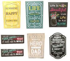 Wooden Bedroom Decorative Indoor Signs/Plaques