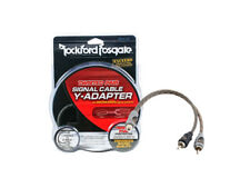 rockford fosgate car wiring wiring harnesses for rockford fosgate rfiy 1f 1 female to 2 male y adapter rca interconnect cable