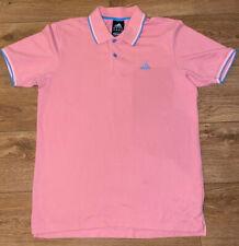 Adidas Polo Shirt Size Medium Men's Climalite