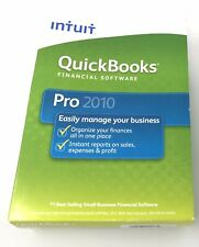 Intuit Quickbooks Pro 2010 for Windows Financial Software