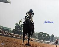 Ron Turcotte Secretariat Triple Crown Authentic Signed 16X20 Photo PSA/DNA