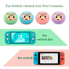 4PCS Kawaii Thumb Grips Cap For Animal Crossing Switch / Switch Lite Console