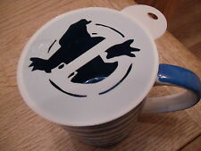 Laser cut busters design coffee and craft stencil