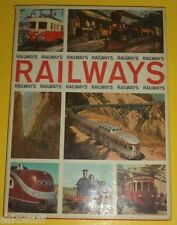 Railways, Railways, Railways 1968 Illustrated World Railroads Great Pictures SEE