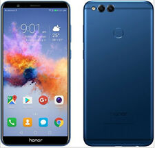 "NUOVO Huawei HONOR 7X Blu 5.9"" 64 GB Dual SIM 4 G LTE Android 7.0 SIM Gratis Sbloccato"