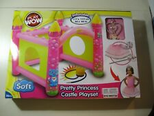 Inflatable Pretty Princess Castle Playset (Brand New and Sealed) 46 x 46 inch