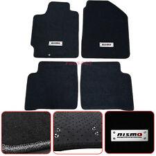 For 02-06 Nissan Altima 4Dr Black Nylon Floor Mat Carpet thwartwise Nismo Emblem