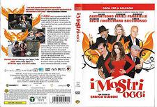 I MOSTRI OGGI (2009) dvd ex noleggio