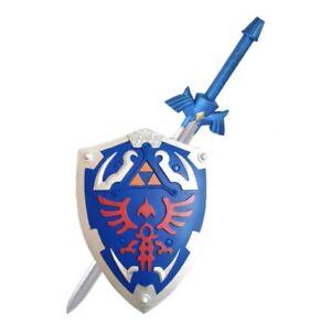 Legend of Zelda Sword & Shield Cosplay items Costume Props Accessories 1:1 Link