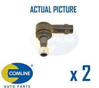 2 x NEW COMLINE FRONT OUTER TRACK ROD END RACK END PAIR OE QUALITY CTR3022