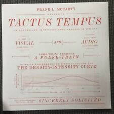 "A Pulse Train – Tactus Tempus NEW Geej gj004lp VINYL 12"""