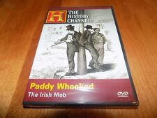 PADDY WHACKED THE IRISH MOB Mobsters Organized Crime History Channel DVD NEW