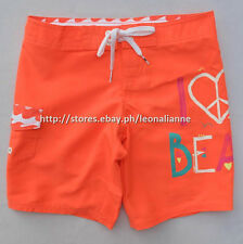 75% OFF! AUTH BILLABONG GIRL'S BOARD SWIM SHORTS SIZE 8 / 7-8 YRS BNEW $29.50