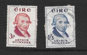 IRELAND 1959 GUINNESS BICENTENARY SET SG178,179 gu CAT £12