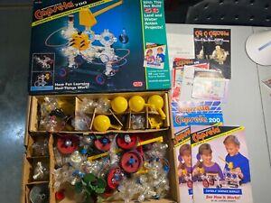 Capsela 700 Play Tech Vintage 1993 Set + Extra Sets