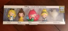 SDCC 2016 BAM Disney Princesses Summer Exclusive Figural Key Chain 5 pack NIB