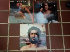 Roy Ayers: Lot Of Three 12 in Record Set w/ Shrink Wrap