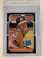 1987 Mark McGwire RC Donruss Rated Rookie#46