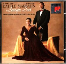 WYNTON MARSALIS- KATHLEEN BATTLE : BAROQUE DUET CD