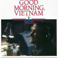 VARIOUS: GOOD MORNING VIETNAM ORIGINAL FILM SOUNDTRACK CD ROBIN WILLIAMS / NEW
