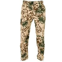 Genuine German army desert tropical camouflage pants military issue trousers
