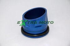 Beccuccio tromboncino terminale di scarico in ergal Yamaha T-Max 530 BLU
