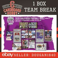 2020 Gold Rush Football Vault DENVER BRONCOS [1box] TEAM BREAK [Live]