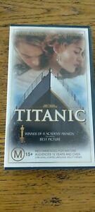 Titanic VHS Video Tape  New and Sealed Collectable RARE