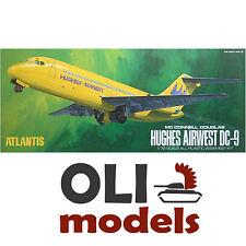 1/72 Hughes Airwest/TWA DC-9  Passenger Jetliner - Atlantis Aurora 6004