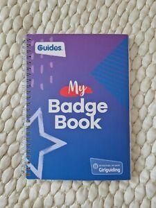 Girl Guides my Badge Book New Girlguiding Brownies Etc