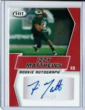 2019 SAGE HIT IZZY MATTHEWS RC AUTO RED A102 COLORADO STATE TEXANS PD