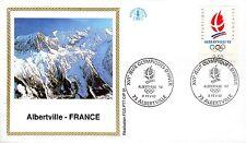 2632+ FDC  ENVELOPPE 1er JOUR  CEF JEUX OLYMPIQUES OUVERTURE 8 FEVRIER 1992