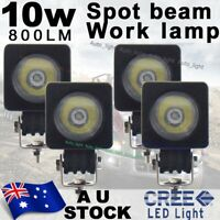 4X 10W Spot beam US Cree LED Work Light Car boat Truck Driving 12V 24V