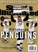 Sports Illustrated Magazine Commemorative 2016 Champions PITTSBURGH PENGUINS