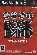Rock Band Song Pack 2 PS2 Sony PlayStation 2 PAL Brand New