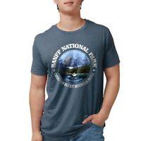CafePress Banff National Park T Shirt Mens Tri-blend T-Shirt (153064283)