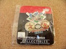 2008 Houston Astros vs Boston Red Sox Interleague pin