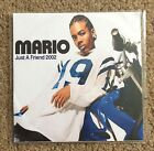 MARIO Just A Friend 2002 PROMO CD SINGLE R&B Soul Step Up BMG remix remixes