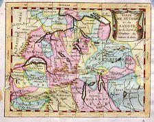 Antique map, Carte de Suisse et de Savoye