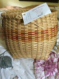 Hand Made Basket By Glory Baskets Artist Connie Shallote N. C.