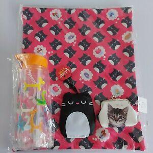 school bundle felinefine foldable bag drawstring bag balloon animal water bottle