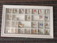 25 The Country Store Advertising Collection Porcelain Thimbles Franklin Mint