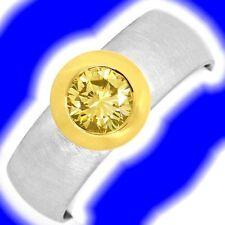 Unbehandelte Markenlose mit Diamanten Ringe aus Platin