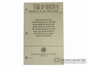 Field Maintenance Manual for 60mm Mortar (Original)