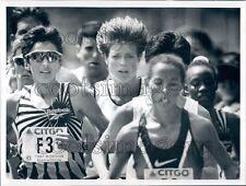 1997 Uta Pippig Elana Meyer Fatuma Roba Boston Marathon Press Photo