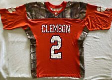 Clemson Tigers Camo Football Jersey by Real Tree - Large