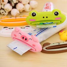 Cartoon animal Bathroom home Toothpaste Tube Dispenser Squeezer Rolling Holder