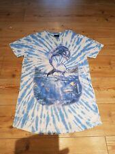 Da Uomo ecco il Delfino T-shirt Tie Dye dropdead locale Medium